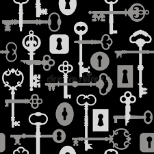 pattern lock design images skeleton key lock pattern gray stock vector illustration of hogeye
