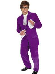purple mojo man 60s costume fancy dress and party