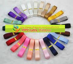4 inch ribbon ppcrafts ribbon 1 4 inch 6mm solid color satin ribbons