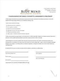 13 massage consent forms in pdf