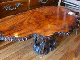 tree trunk coffee table tree stump coffee table for sale home decorating ideas