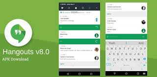 hangouts apk get v8 0 update with android n bundled notifications direct