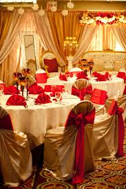 Indian Wedding Reception Themes by Red And Gold Wedding Reception Ideas House Design Ideas