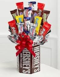 candy bar bouquet you get a bouquet of roses he gets a candy bar bouquet for guys