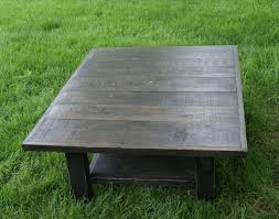 free shipping very large and beautiful coffee table hand