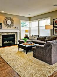 Large Area Rug How To Place Area Rug In Large Living Room Gopelling Net