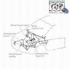 tata indica v2 1 4 dicor engine wiring harness