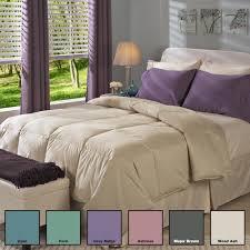 Down Comforter King Oversized Bedroom White Blanket Mattress With Down Alternative Comforter