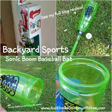 backyard sports sonic boom bat u0026 ball set blog review spon