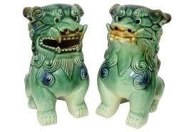 choo foo dogs green ceramic foo dogs pair almighty foo dog foo dog