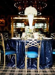 navy blue table linens 10pcs120 round navy blue sequin tablecloths for wedding table linen