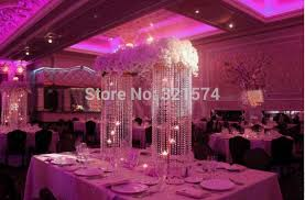 Crystal Chandelier Centerpiece Aliexpress Com Buy 2pcs Lot Tall 83cm 32 68