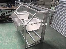 Aluminium Bar Table Acrylic Aluminum Counter Folding Bar Table Folding Bar Buy