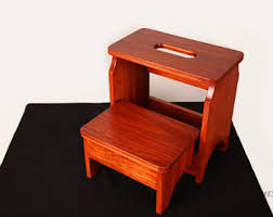 two step stool etsy