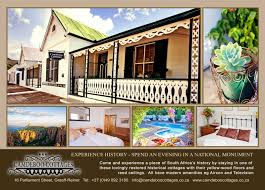 South African Cottage House Plans Camdeboo Cottages Graaff Reinet
