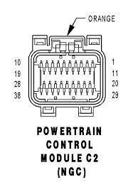 anyone have pcm wiring pin out diagram 04 ram moparts question