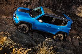 jeep renegade dark blue comparison jeep renegade limited 2016 vs porsche macan turbo