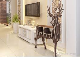 deer decor for home yjbetter diy 3d wooden puzzle deer decor fake animal faux deer decor