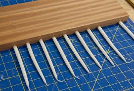 wooden menorah how to make a diy modern wooden menorah made diy crafts