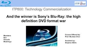 format dvd bluray case study and the winner is sony s blu ray the high definition d