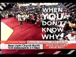 new light christian center church why seminar at new light christian center church youtube