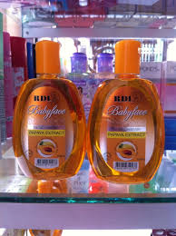 Sabun Rdl rdl babyface cleanser with papaya extract original bpom