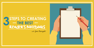 3 steps to creating the best reading notebooks