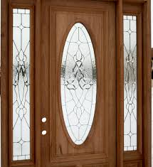architecture wood entry door with sidelights without handle
