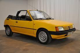peugeot yellow 1986 peugeot 205 cti classic motor sales
