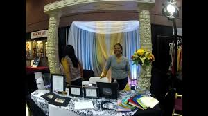 thanksgiving point wedding expo how to setup a bridal show booth youtube