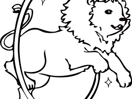 circus animals coloring pages coloring page for kids