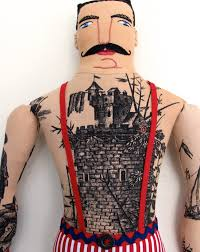 castle tattoo doll