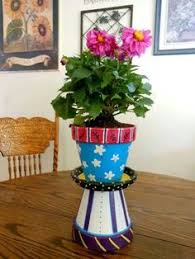 Garden Craft Terra Cotta Marker - markers are an easy way to give plain terra cotta pots a custom