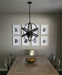 andrea west design blog diy designer black orb chandelier