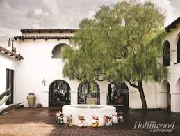 Spanish Colonial Revival Architecture See This House A Gleeful Spanish Style Abode For Hollywood