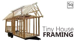 Build A Small House by Building A Tiny House 2 Framing Youtube