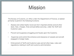 in bureau department of finance