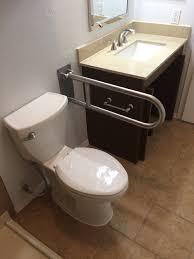 Ada Bathroom Vanity by Ada Commode Flip Up Safety Bar U0026 Wheel Chair Accessible Vanity
