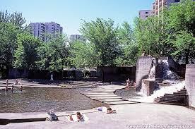 lovejoy fountain park portland lawrence halprin public use of
