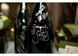 guest book wine bottle simply weddings pittsburgh wedding inspiration for