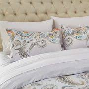 Paisley Duvet Cover Set Paisley Duvet Cover Set Bohemian Colorful Paisley Bedding Floral