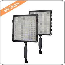 led studio lighting kit 2pcs cn 576 plastic portable led video light studio lighting kit