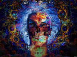 psychedelic home decor trippy psychedelic art psychedelic skeleton acid art steves