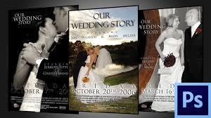 wedding movie poster template jerome cloninger