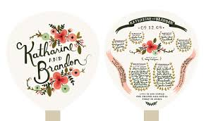 wedding paper fans wedding program fans cox the
