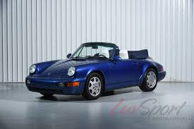 porsche sedan convertible 1991 porsche 964 carrera 2 cabriolet carrera stock 1991152 for