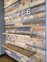 Wood Panel Wall Decor by Wood Pallet Accent Wall Pallet Furniture Diy Pallet Project