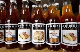 infamous jones turkey and gravy soda food