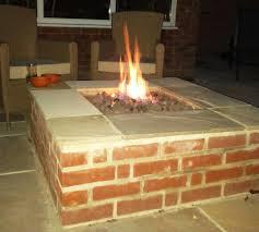 Brick Firepits Diy Brick Firepit Fireplaces Firepits Building Brick