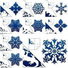 Blue Snowflakes Decorations 312 Best Snowflakes U0026 Window Decorations Images On Pinterest